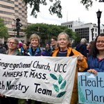 UCC Church Members Take Part in Springfield Protest